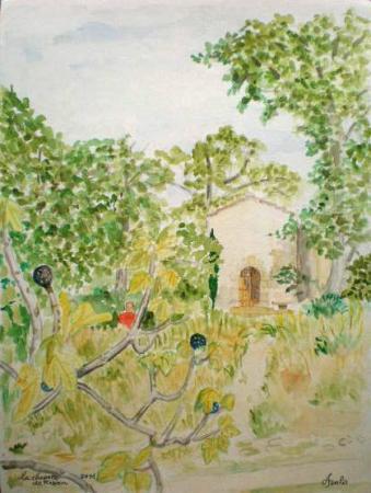 Petite chapelle à Robion.