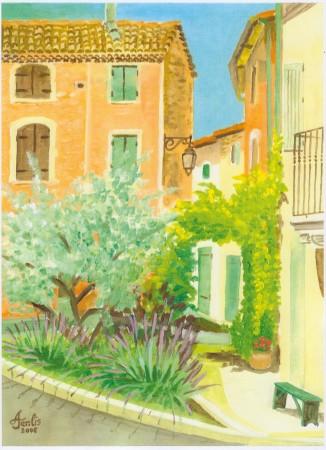 L'olivier de Goult.