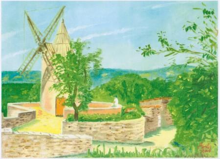 Le Moulin de Goult.